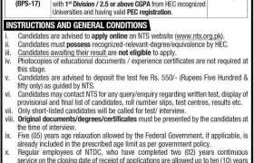 Jobs in National Transmission & Despatch Co 2021