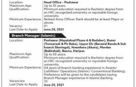Jobs in The Bank of Khyber 2021