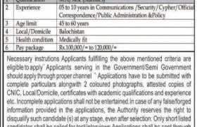 Govt of Balochistan Jobs 2021