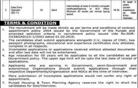 Housing & Town Planning Agency Lahore Jobs 2021