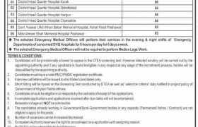 Health Department Khyber Pakhtunkhwa Jobs 2021