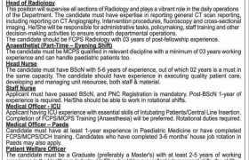 The Kidney Center Karachi Jobs 2021