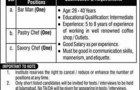 Rawalpindi Based Organization Jobs 2021