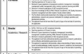 Jobs in NCBA&E 2021