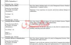 Jobs in Higher Education Commission Pakistan 2021