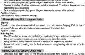 National Transmission & Despatch Co Jobs 2021
