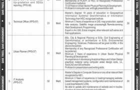 Jobs in Ministry of Climate Change Islamabad 2021