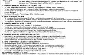 Jobs in The City School Lahore 2021