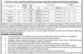 Jobs in Irrigation Department Sindh 2021