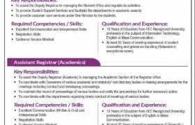 Jobs in Superior University Lahore 2021