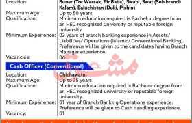 Bank of Khyber Career Opportunities 2021