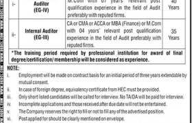 Jobs in OGDCL 2021