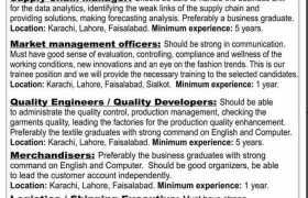 Jobs in a Leading European Fashion House 2021