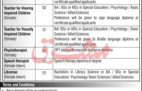 Jobs in Umeed Special Education School 2021