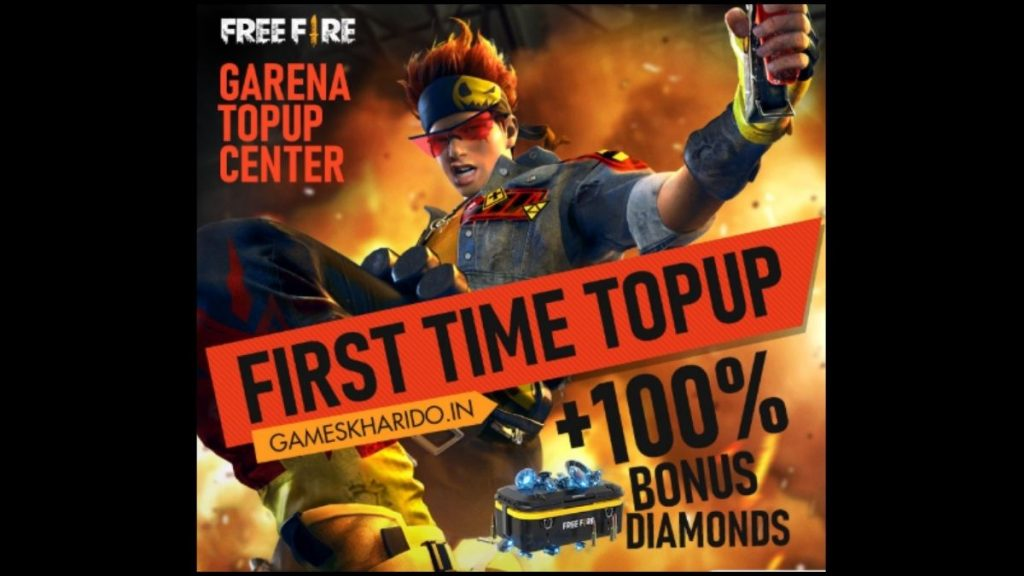 Games Kharido Garena Topup Centre, Get Games Kharido 100% Free Fire Top Up Bonus game kharido.com