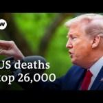 Coronavirus: Trump halts WHO funds amid falling poll numbers | DW News