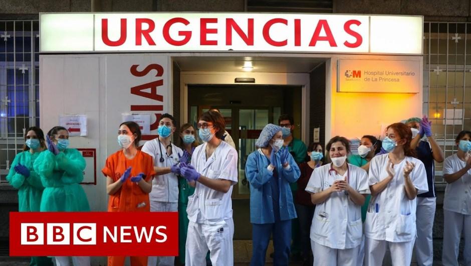 Coronavirus: Spanish deaths fall for fourth consecutive day – BBC Information