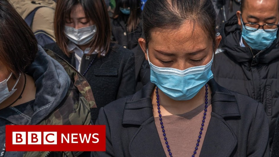 Coronavirus: China stops for 3 minutes to recollect the lifeless – BBC Information
