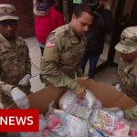 Coronavirus: Drastic measures in US & Europe as circumstances soar – BBC Information