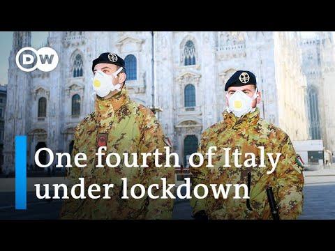 Coronavirus: Italy places hundreds of thousands underneath quarantine | DW Information