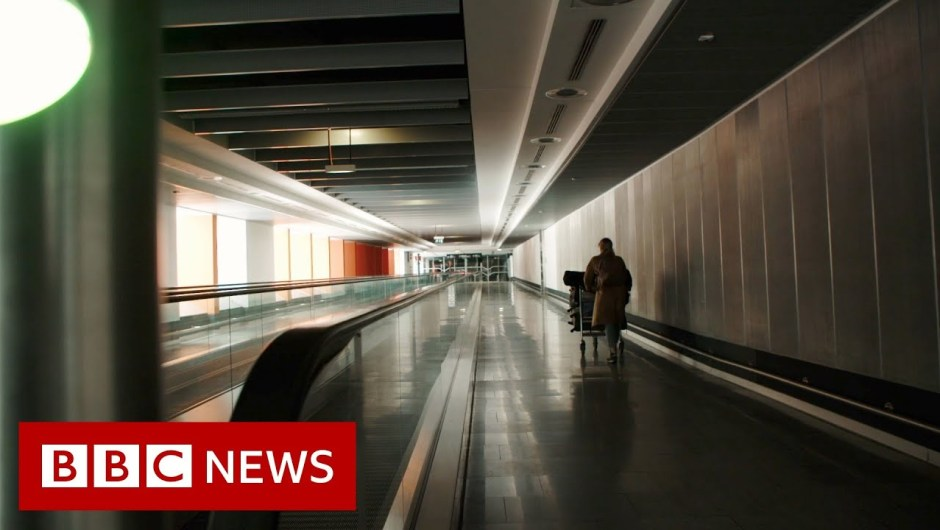 Coronavirus: Airports 'with out individuals' – BBC Information
