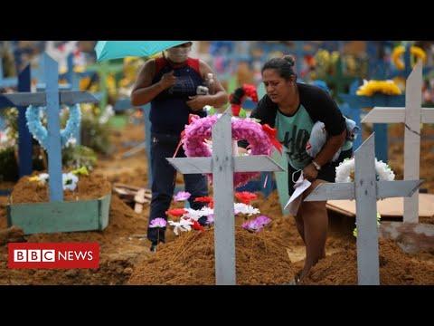 "Coronavirus: Brazil's ""chaotic"" response as President denies any major problem – BBC Information"