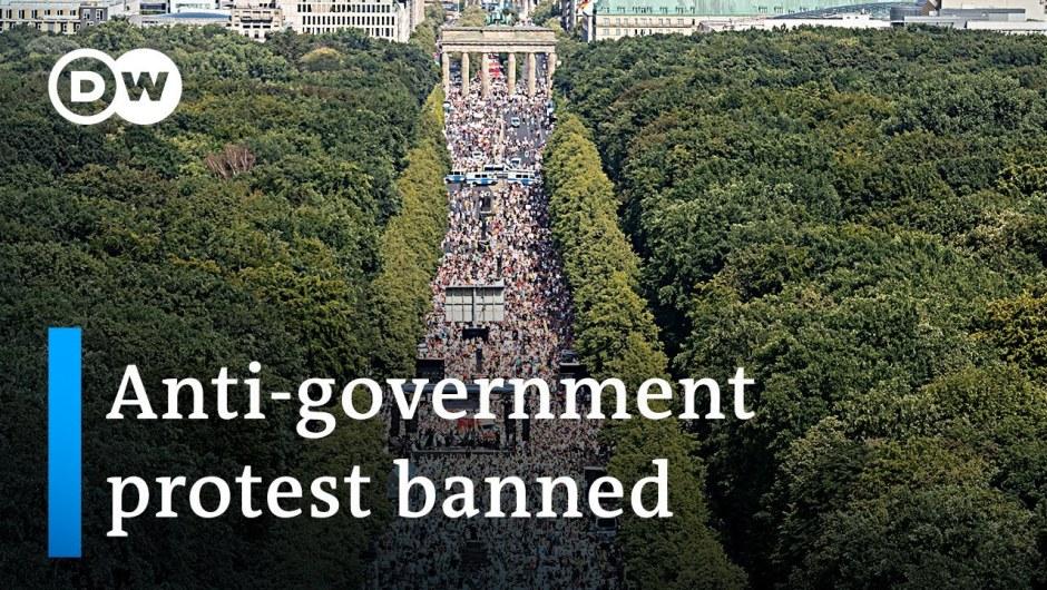 German authorities ban mass gathering towards coronavirus measures in Berlin | DW Information