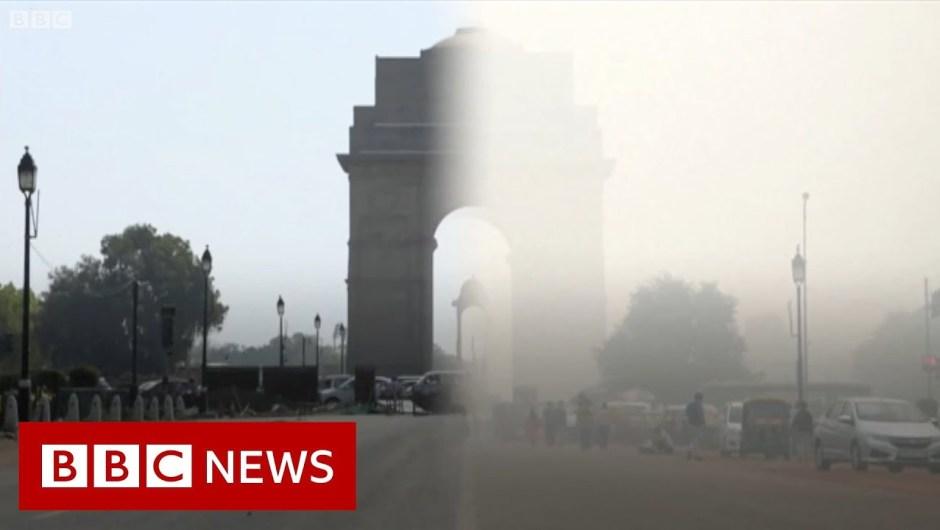 Coronavirus: Smog air pollution in Delhi vanishes – BBC Information