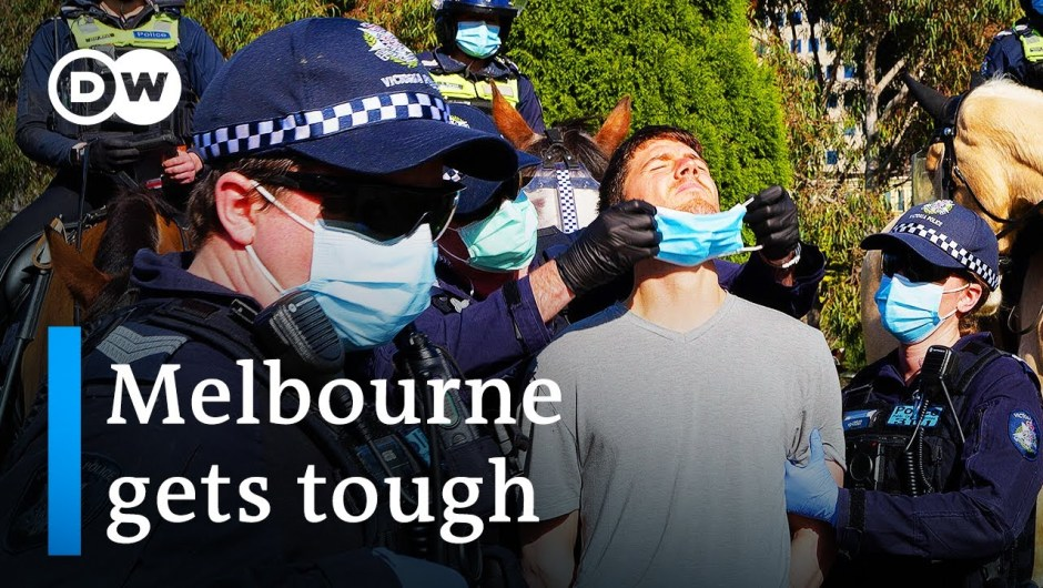 Coronavirus Australia: Melbourne underneath strict lockdown as instances surge   DW Information