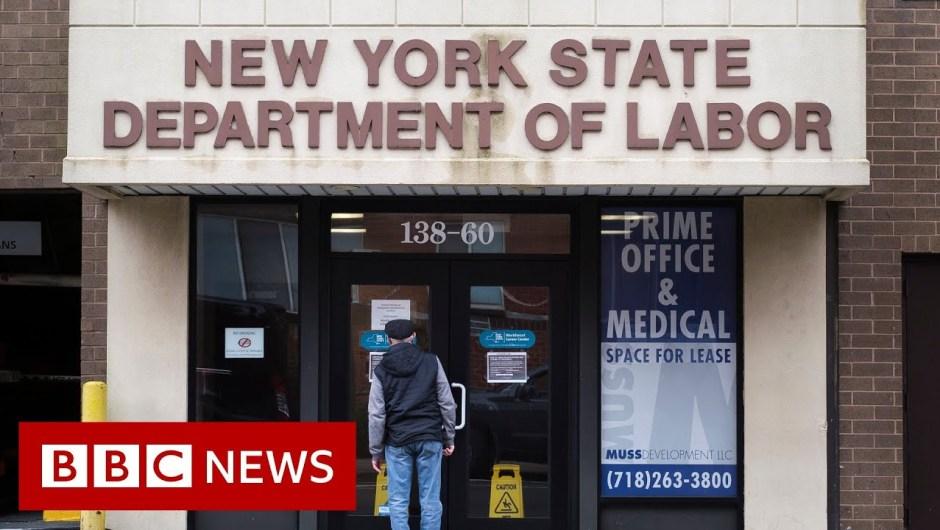 Coronavirus: US unemployment claims hit 26.Four million amid virus – BBC Information