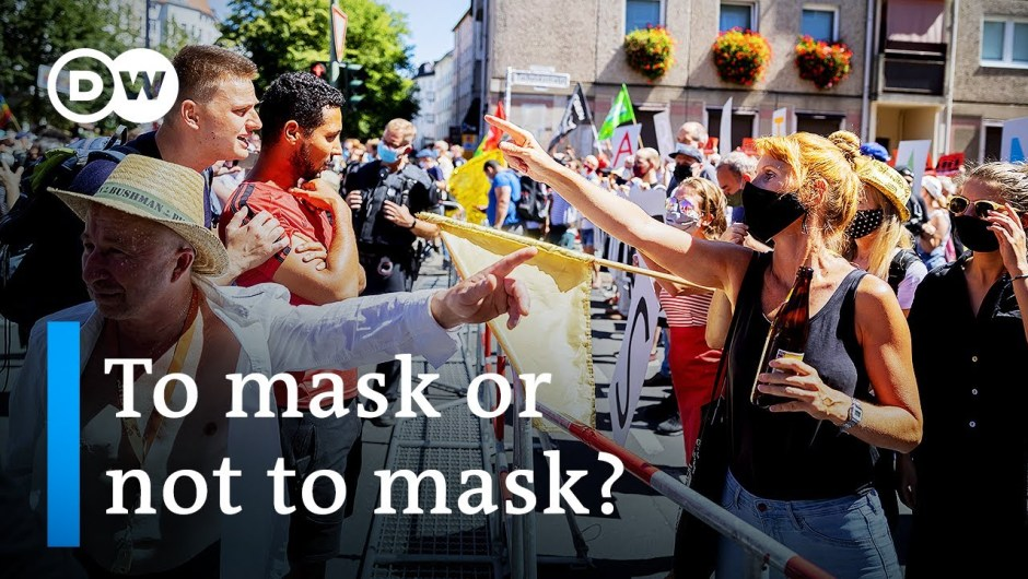 Berlin protests for and towards coronavirus restrictions as instances soar in Germany   DW Information