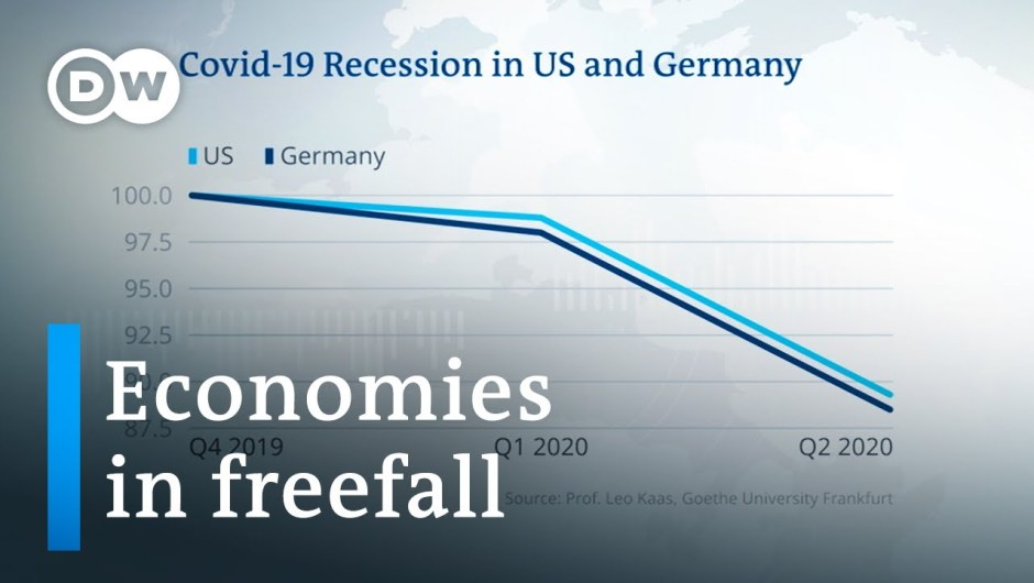 US and Germany report document GDP declines as a result of coronavirus   DW Information