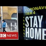 """Hundreds of thousands extra in England in hardest Tier four as Covid circumstances rise at """"harmful fee""""- BBC Information"""