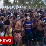 Emergency curfew in Miami Seashore over spring break Covid danger – BBC Information