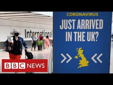UK closes journey corridors as fears develop over new coronavirus variants – BBC Information
