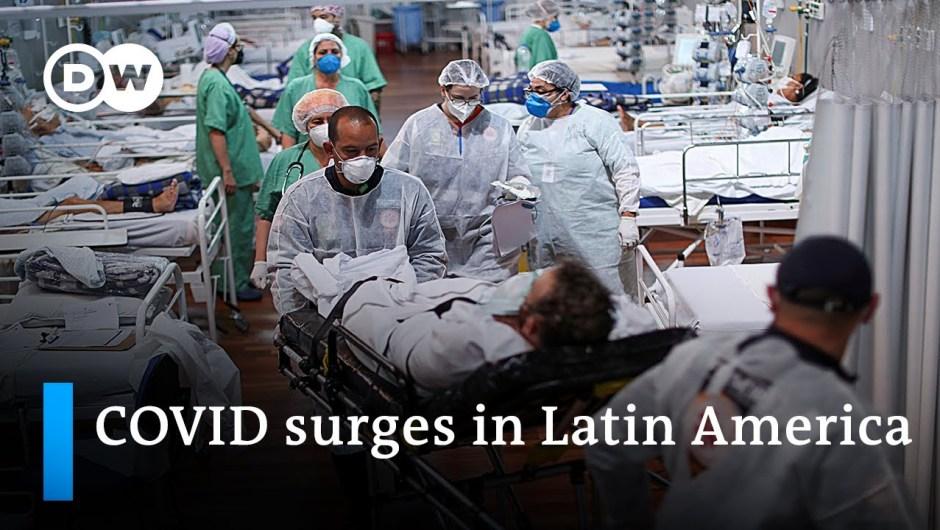 Latin America's COVID-19 state of affairs stays devastating   DW Information