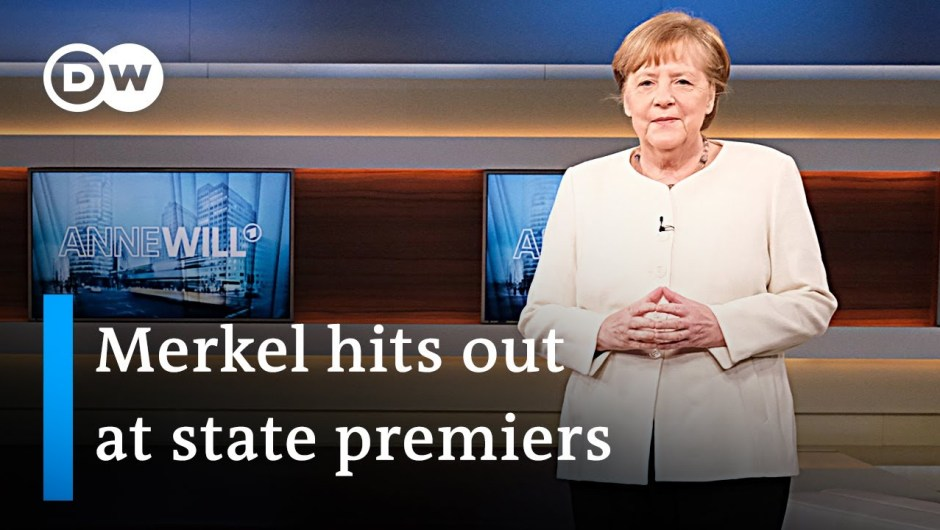 Angela Merkel pushes for tighter coronavirus restrictions in Germany   DW Information