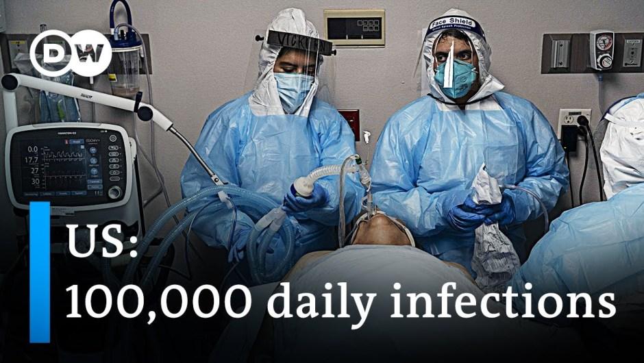 US breaks 24-hours coronavirus file | DW Information