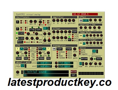 Synth1 VST Product Key