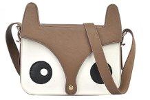 Lunita Mia Accessories Fox Panda Brown Bag http://goo.gl/iQIJwH