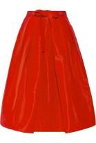 TIBI Pleated silk-faille skirt tiny.cc/lx9p9w