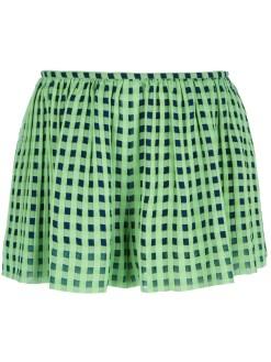 THAKOON printed shorts