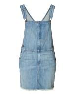 CURRENT/ELLIOTT Overall Dress in Denim