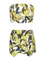 12. SUMMER COORDINATES | TOPSHOP Lemon Print Coordinates, from topshop.com