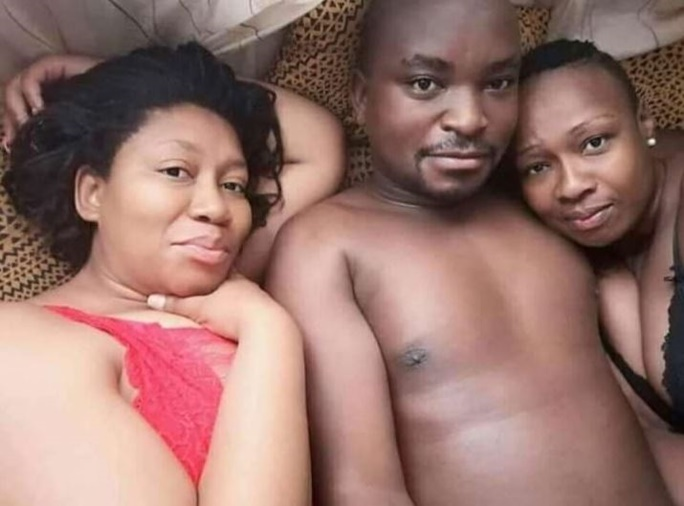 Zimbabwean Man With Wife & Smallhouse In Bed During Lockdown