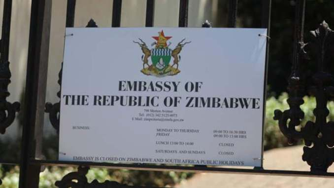 Zimbabwe Embassy In South Africa