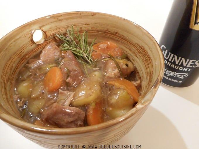 Irish Stew: Le ragout d'agneau irlandais: Recette spéciale Saint Patrick