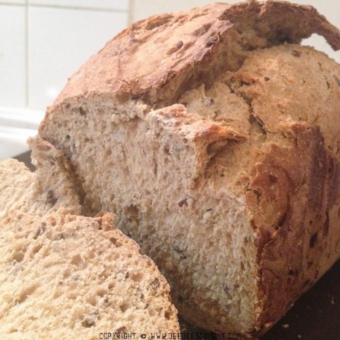 pain de campagne recette à la map