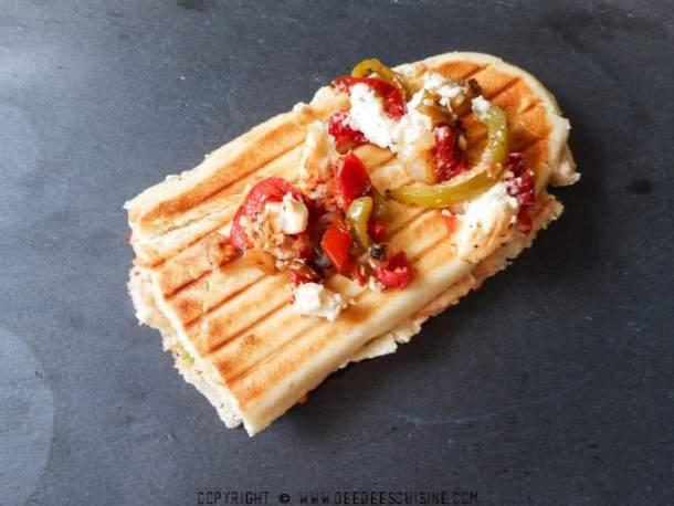 panini recette vegetarienne