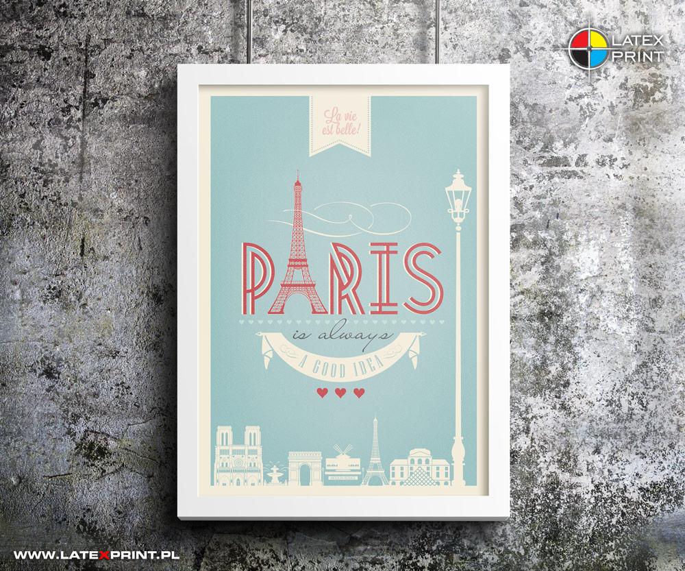 drukarnia plakatów PARIS